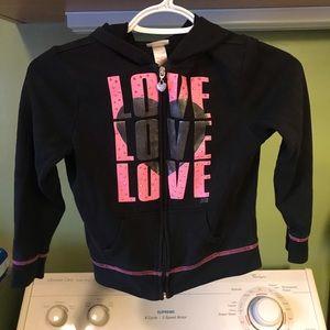 Girls justice sweatshirt